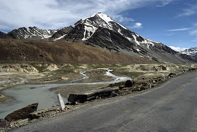 Photograph - Going With The Flow...on The Worlds Highest Roads by Rohit Chawla