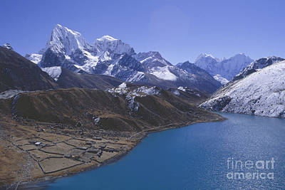 Photograph - Gokyo Nepal by Rudi Prott