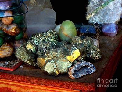 Photograph - Gold And Gemstones by Renee Trenholm