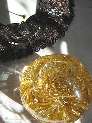 Photograph - Gold Ball And Frame by Brooks Garten Hauschild
