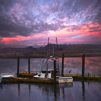Photograph - Gold Beach Harbor by Debra and Dave Vanderlaan