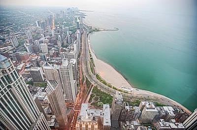 Gold Coast Of Chicago Art Print