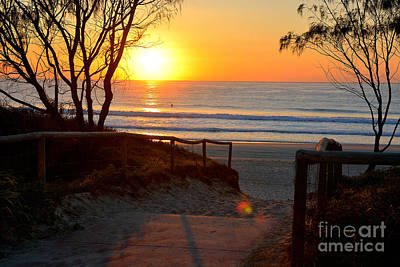 Photograph - Gold Coast Sunrise by Stuart Row