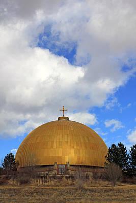 Architecture Photograph - Gold Dome - Jennifer Robin by Jennifer Robin