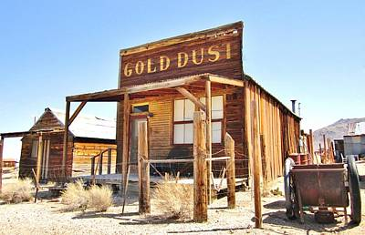 Photograph - Gold Dust by Marilyn Diaz