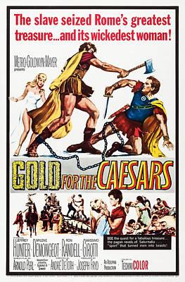 Gold For The Caesars, Aka Oro Per I Art Print by Everett