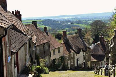 Photograph - Gold Hill Shaftesbury by Katy Mei