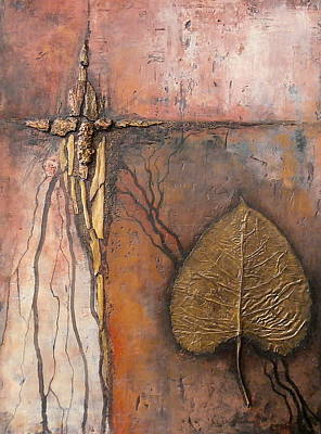Painting - Gold Leaf by Buck Buchheister