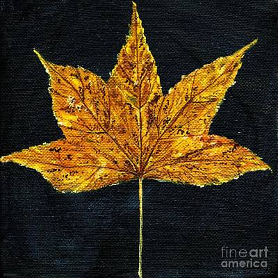 Painting - Gold Leaf by Lizi Beard-Ward