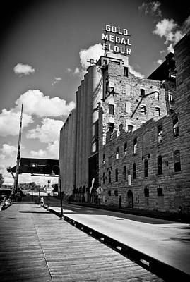 Photograph - Gold Medal Flour by Chris Coward