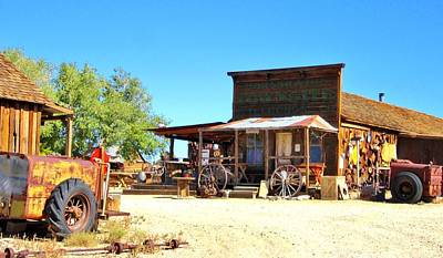 Photograph - Gold Mining Town by Marilyn Diaz