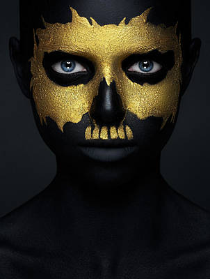 Paint Wall Art - Photograph - Gold Of The Dead. by Alex Malikov