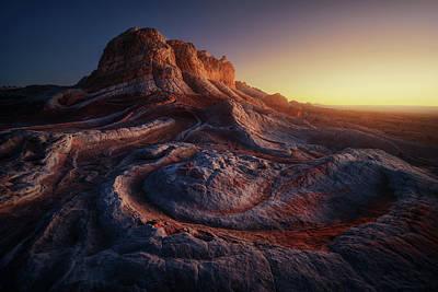 White Sands Wall Art - Photograph - Gold Pocket. by Juan Pablo De