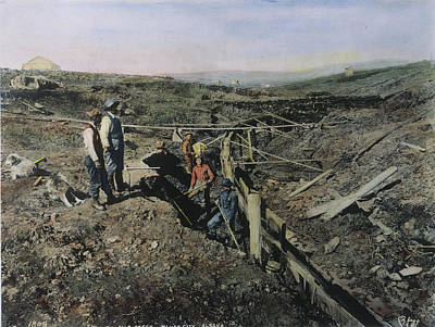 Gold Prospectors, C1897 Art Print by Granger