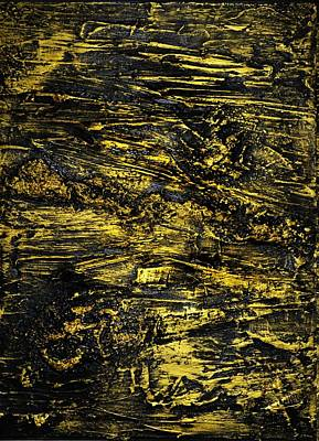Painting - Gold Rush 2 by P Dwain Morris