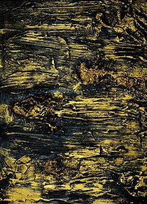 Painting - Gold Rush 3 by P Dwain Morris