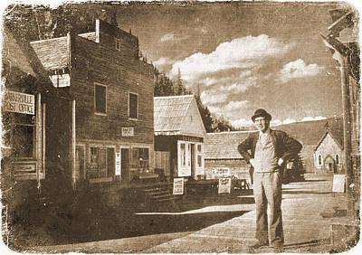 Barkerville Photograph - Gold Rush Boss by Doug Matthews