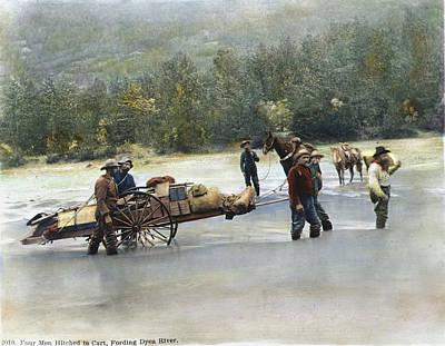 Gold Rush Klondike Art Print by Granger