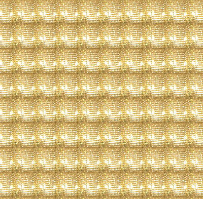 Art Print featuring the photograph Gold Sparkle Tone Pattern Unique Graphics by Navin Joshi