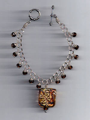 Sterling Silver Bracelet Jewelry - Gold Squared by Blynn Pippen