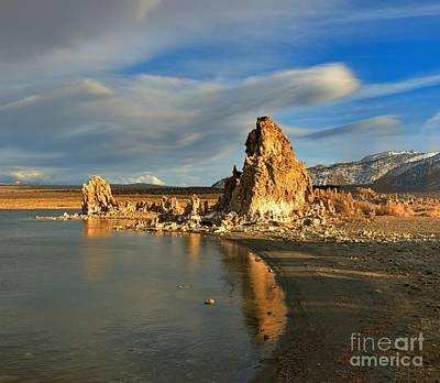 Photograph - Golden Afternoon At Mono Lake by Adam Jewell