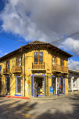 Photograph - Golden Afternoon In San Cristobal De Las Casas by Mark E Tisdale