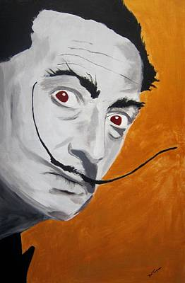 Painting - Golden Age Of Dali by Dan Twyman