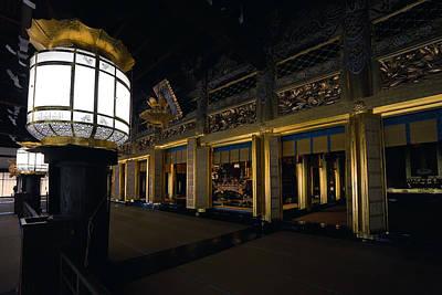 Golden Altar Of Kyoto Art Print