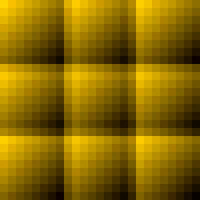 Digital Art - Golden And Dark Brown Texture Background by Valentino Visentini