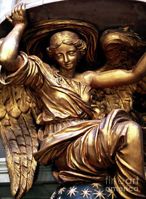 Photograph - Golden Angel by John Rizzuto