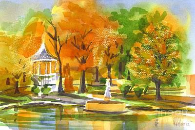 Golden Autumn Day Original by Kip DeVore