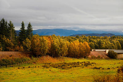 Highlands Of Scotland Photograph - Golden Autumn In Scotland by Jenny Rainbow