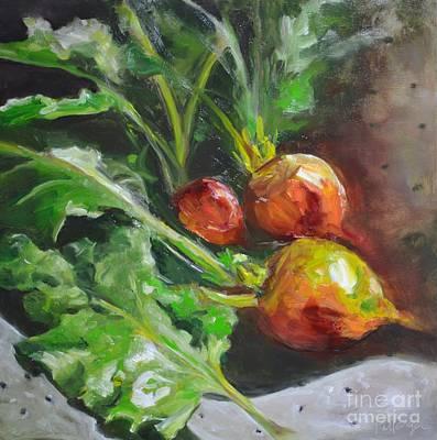 Golden Beets Original by Lori Pittenger