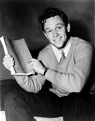 On Set Photograph - Golden Boy, William Holden, On Set, 1939 by Everett