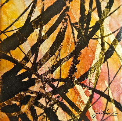 Painting - Golden Branches by Joan Reese
