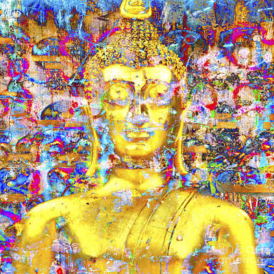 Photograph - Golden Buddha by Derek Selander