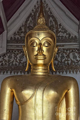 Science Collection - Golden Buddha Temple Statue by Antony McAulay