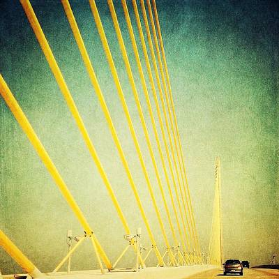 Golden Cables Art Print by Beth Williams