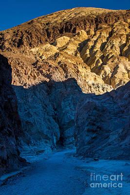 R2-d2 Photograph - Golden Canyon Sunrise - Death Valley - California by Gary Whitton