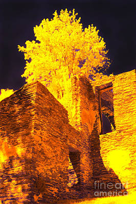 Virginia Ruins Photograph - Golden Chapel by Paul W Faust -  Impressions of Light