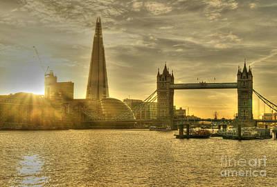 Photograph - Golden City by David Birchall