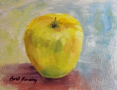 Golden Delicious Art Print by Carol Berning