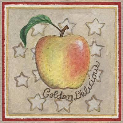 Kitchen Painting - Golden Delicious Two by Linda Mears
