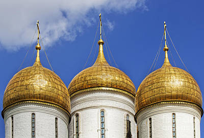 Photograph - Golden Domes by Elena Nosyreva