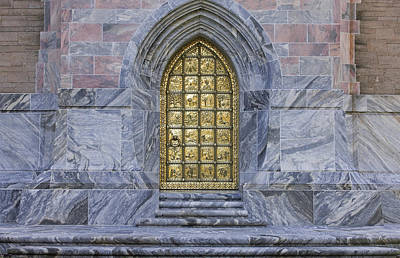 Photograph - Golden Door Bok Tower by Rich Franco