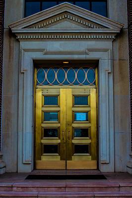 Photograph - Golden Door by Nathan Hillis