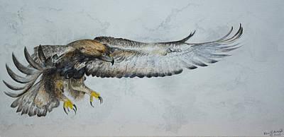 Golden Eagle Original by Alan Pickersgill