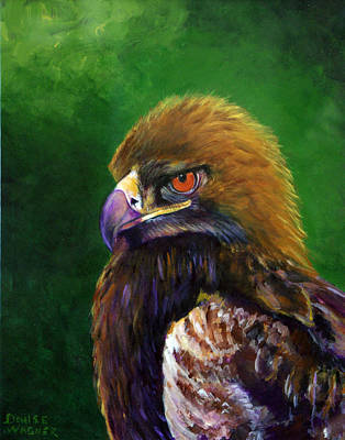 Painting - Golden Eagle by Denise Wagner