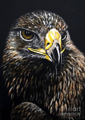 Mixed Media - Golden Eagle by Lora Duguay