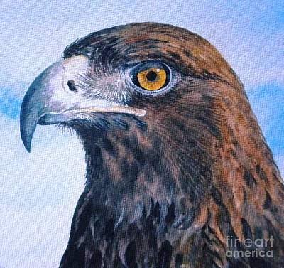 Painting - Golden Eagle by Sandra Phryce-Jones